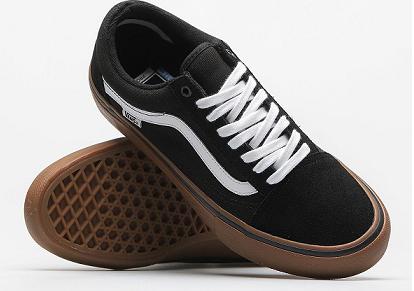 Klasyczne sportowe buty w czarnym kolorze